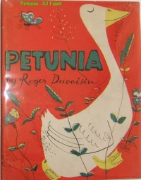 Petunia First Edition Book