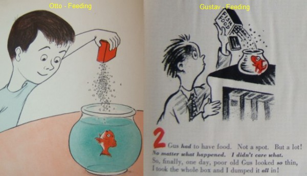 A story of two fish dr seuss out of water collecting for A fish out of water book